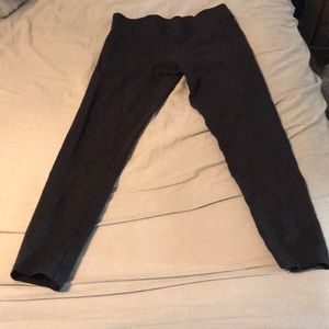 Ann Taylor EUC thick black leggings